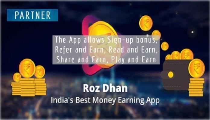 RozDhan App - Easy ways to make money online
