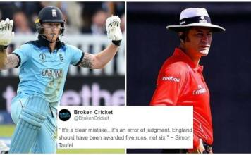 Simon Taufel Says Awarding England Six Runs On The Overthrow Was A Clear Mistake