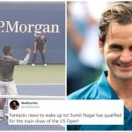 Sumit Nagal faces Roger Federer In 1st Round Of US Open