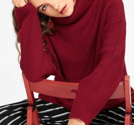 vestiti in maglia