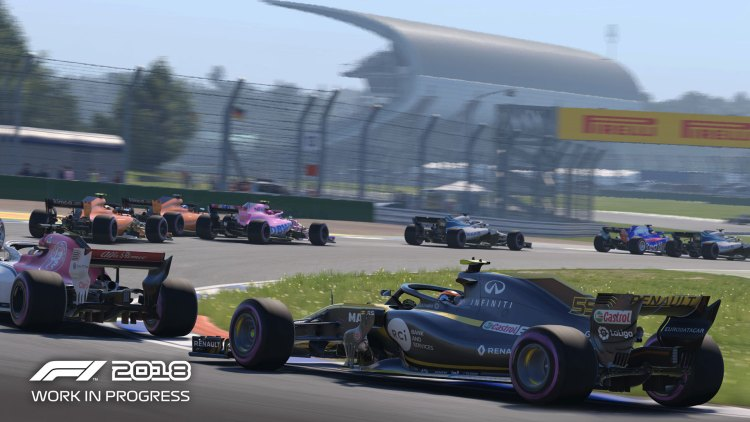 F1 2018: The racing can be intense
