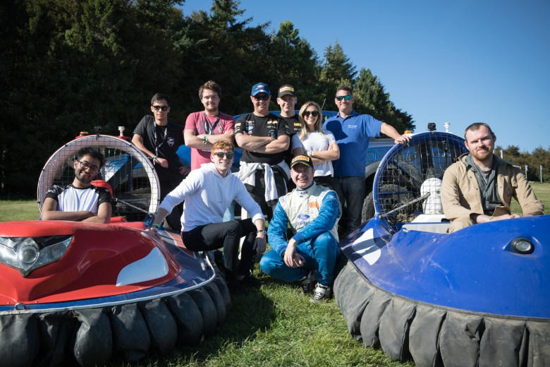 Real-life Forza Horizon 4 event at Goodwood (hovercrafts)