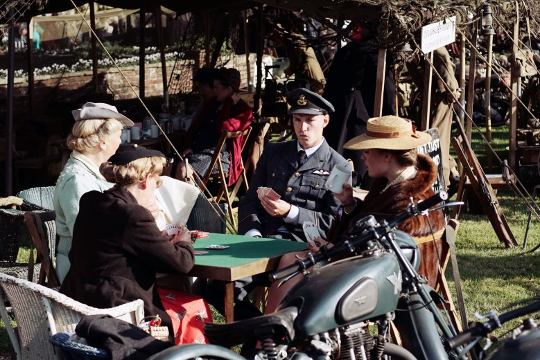 Goodwood Revival 2018: Military Card Game