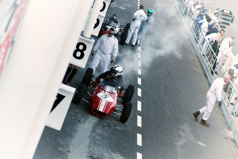 Goodwood Revival 2018 motor circuit and car overheating