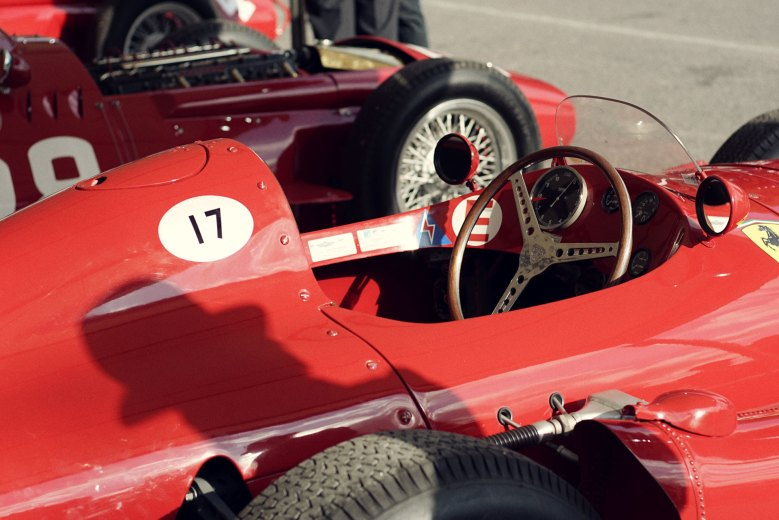 Goodwood Revival 2018: Shadow of a man