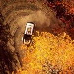 DiRT Rally 2 review: Top-down view of a hairpin