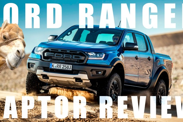 2019 Ford Ranger Raptor video review thumbnail
