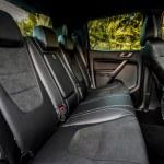 Ford Ranger Raptor rear seats