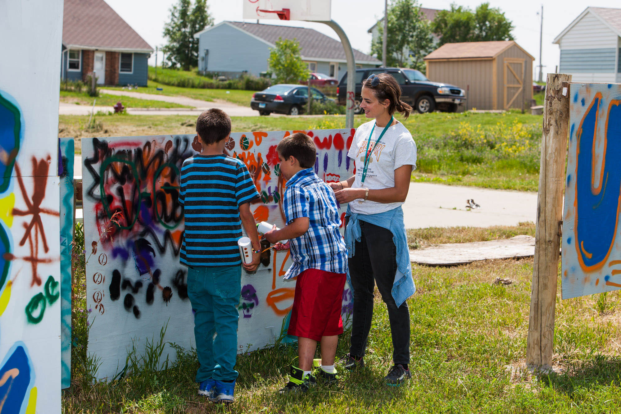 REDCAN IS BACK: GRAFFITI CULTURE AND LAKOTA CULTURE ONCE