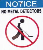 no detecting