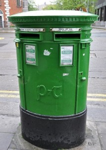 Dublin pillar box (Credit: Anosmia/Flickr)