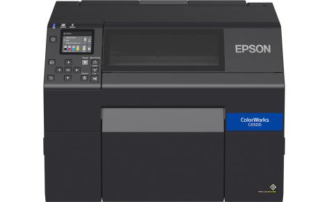 C31CH77102 Epson ColorWorks CW-C6500Ae – полноцветный принтер этикеток со встроенным автоотрезчиком