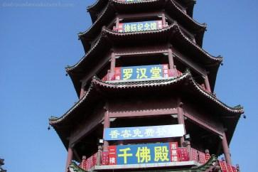 Pagoda in Hefei, China.