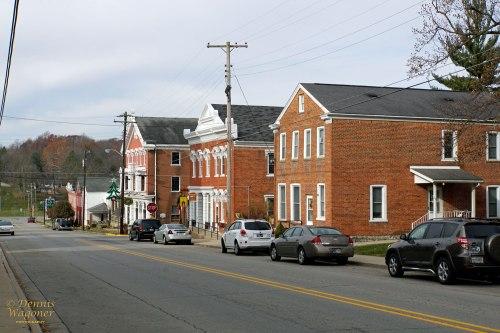Looking down Main Street.