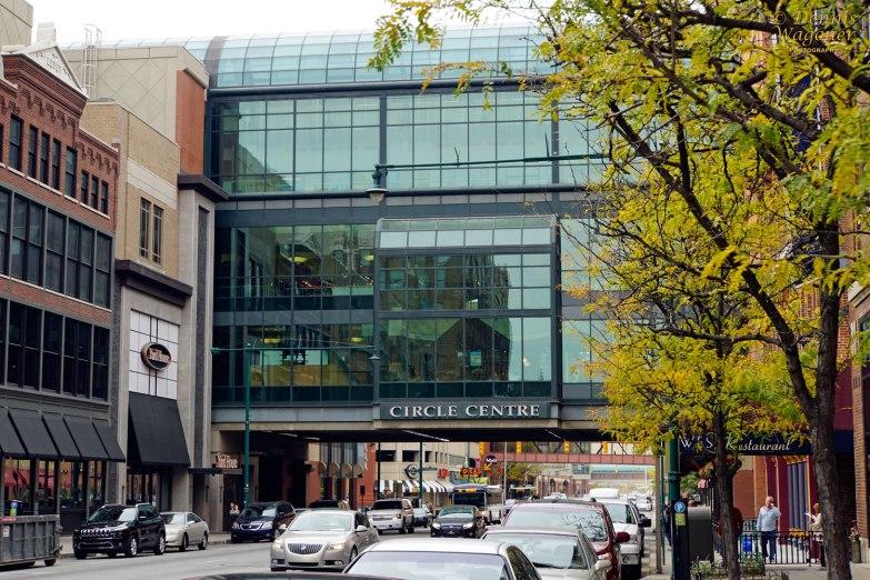 Circle Center Mall Exterior - Indianapolis