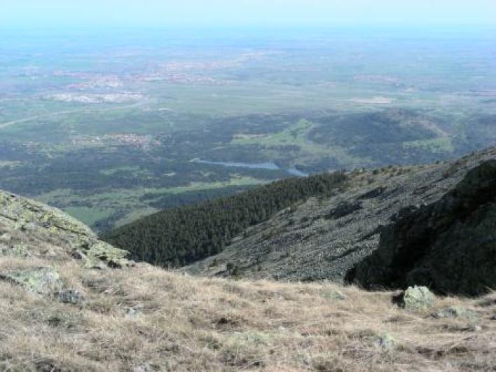 Segovia desde la mujer muerta