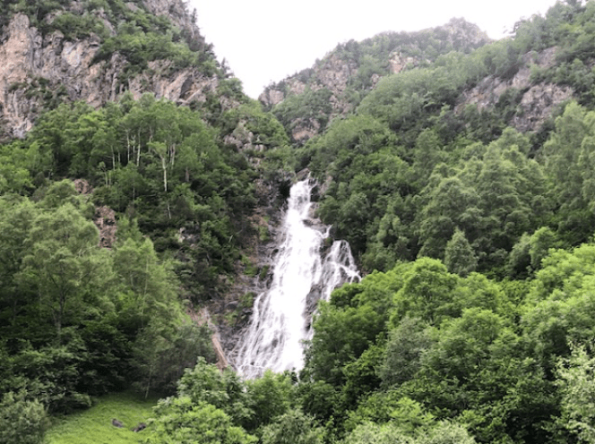 cascada Espigantosa