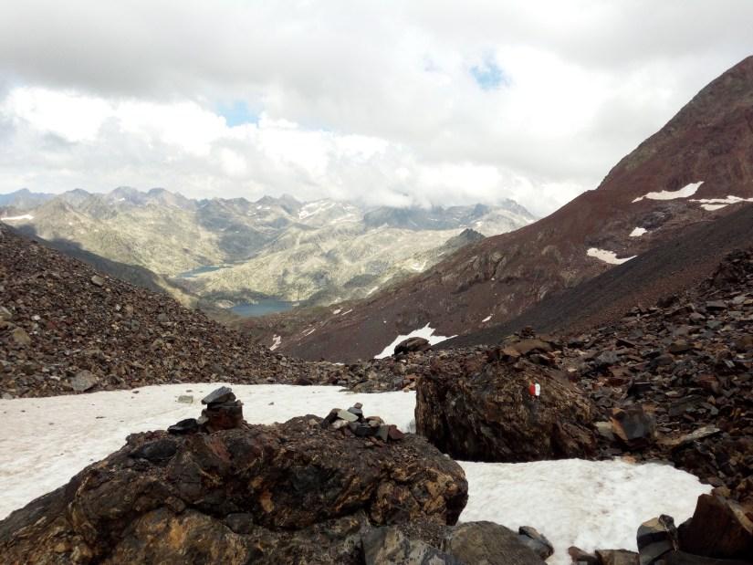 Nieve en el Collado de Tebarrai
