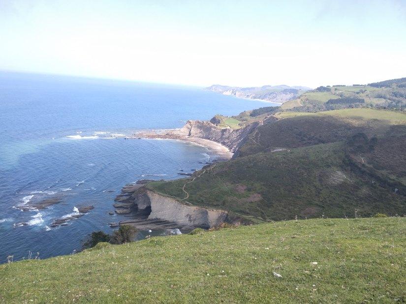 La costa hasta Zumaia