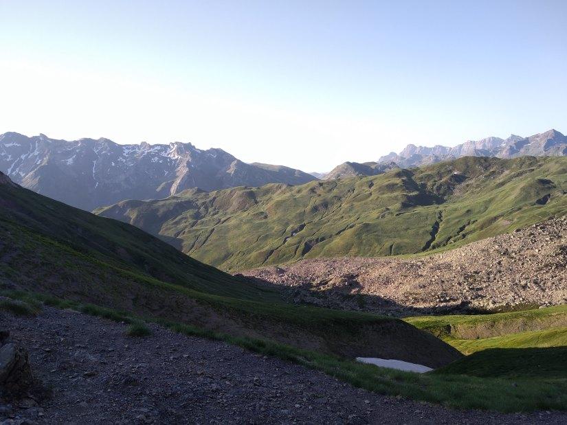Prados en altura de los Pirineos