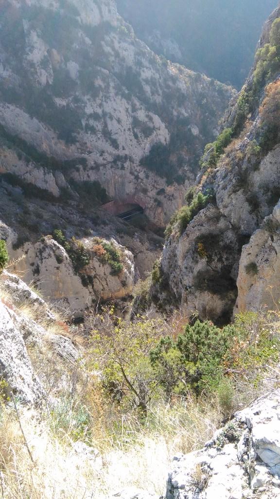 Carretera a Olvena