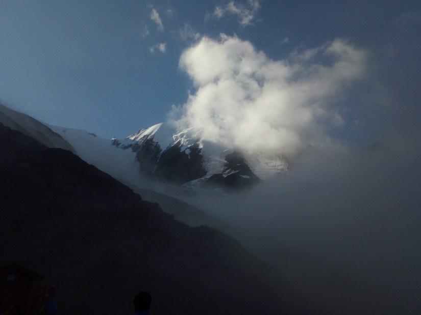 Los alpes y sus vistas