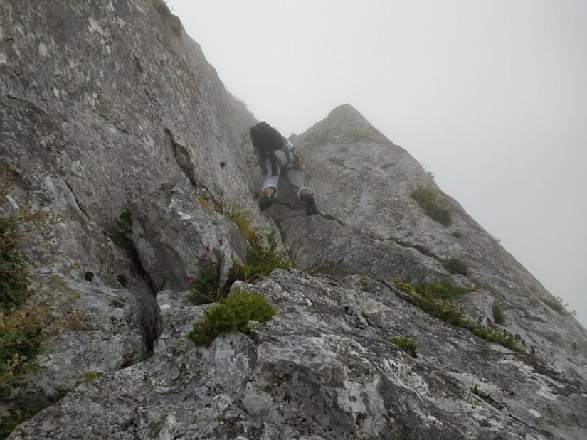 Txindoki por la Cresta