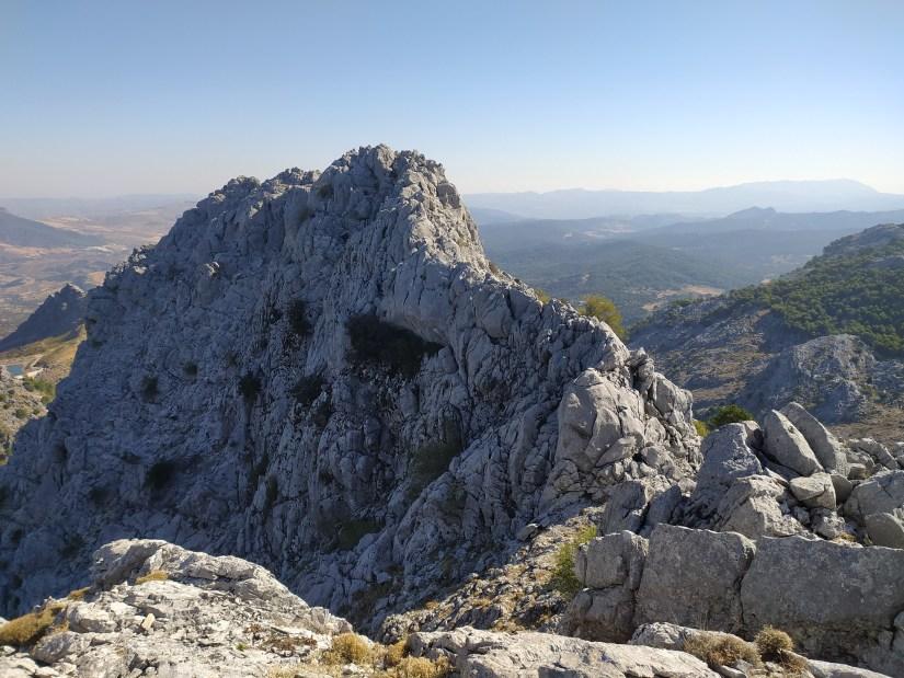 Cresta del Peñón Grande de Grazalema