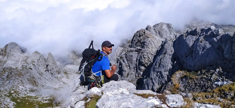 Fer en la montaña