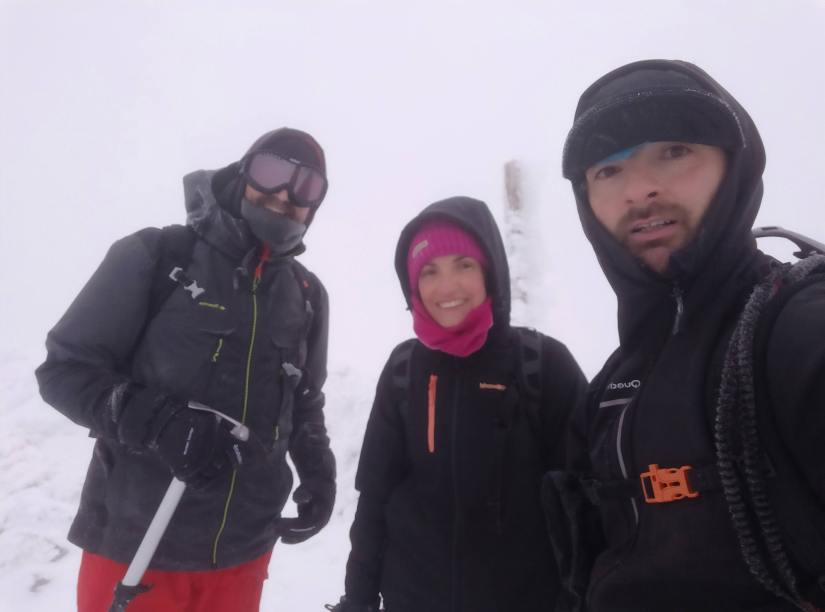 Cumbre del Montón de Trigo