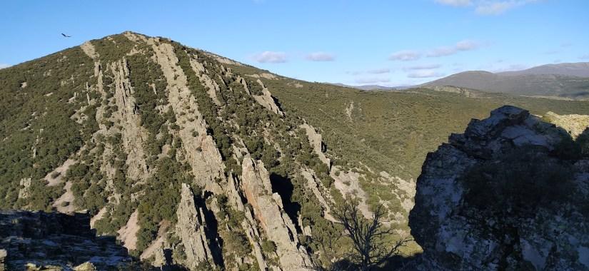 Una formación rocosa