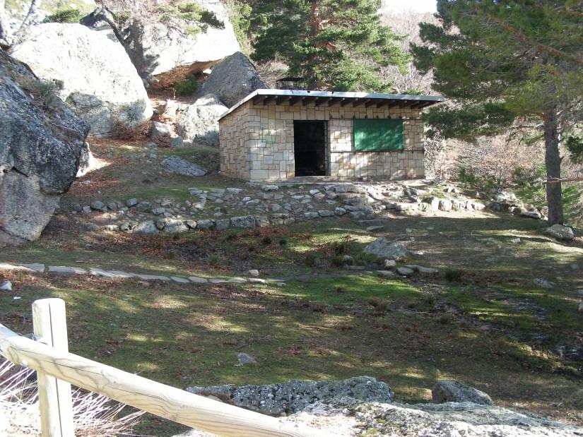 Refugio en laguna negra