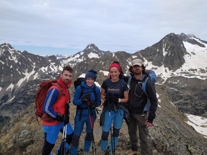 En la cumbre del Pico Musales