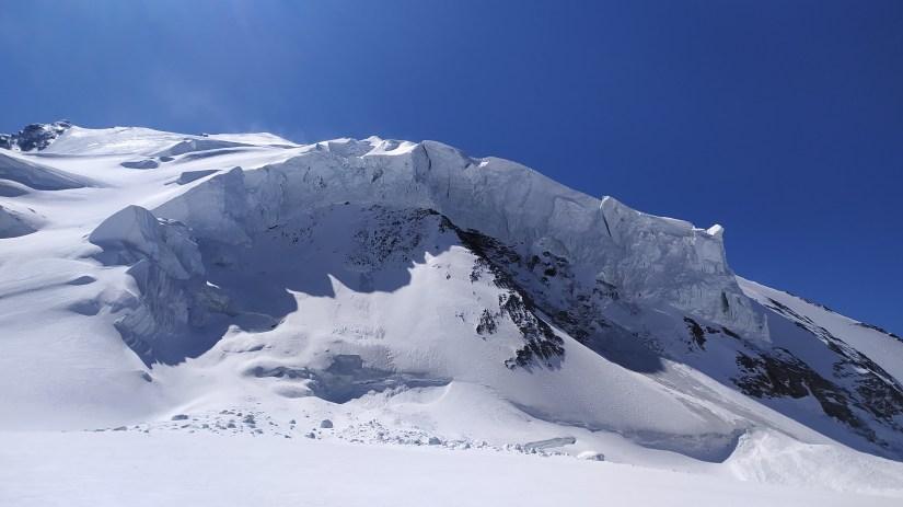 Glaciar de los alpes
