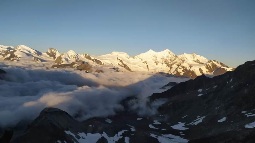 Vistas de los Alpes