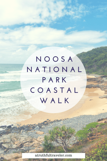 Visiting Queensland in Australia? Visit Noosa, a coastal town home to one of the best national parks in the area. Read on for tips and tricks to enjoy the best beaches and lookouts along the track! #noosa #australia #nationalparks