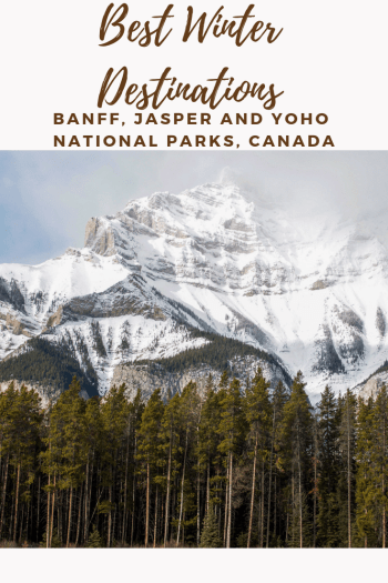Best Winter Destinations Banff Jasper Yoho The Canadian Rockies