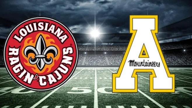 Appalachian State at UL-Lafayette Betting Odds, Pick & Prediction