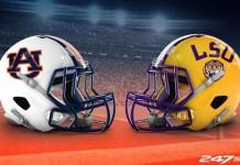 Auburn at LSU