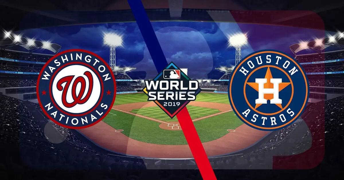 Houston Astros at Washington Nationals: World Series Game Three Pick and Prediction