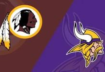 Washington Redskins at Minnesota Vikings