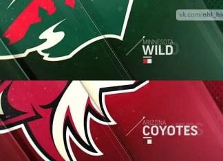 Arizona Coyotes at Minnesota Wild