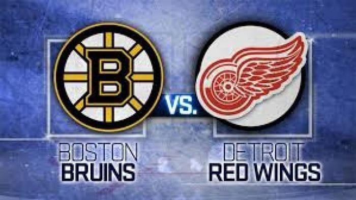 National Hockey League roundup: Red Wings get past Bruins, 4-2