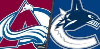 Colorado Avalanche vs. Vancouver Canucks