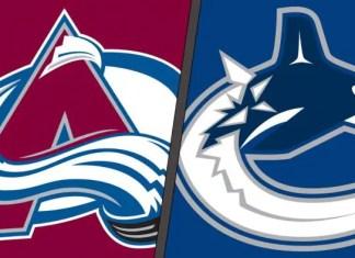 Colorado Avalanche vs. Vancouver Canucks