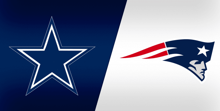 Dallas Cowboys At New England Patriots Week 12 Pick