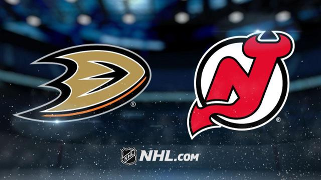 new jersey devils vs anaheim ducks