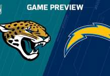 Los Angeles Chargers at Jacksonville Jaguars