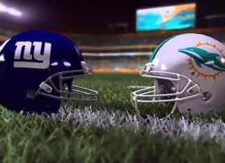 Miami Dolphins at New York Giants