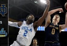 UCLA Bruins vs. Notre Dame Fighting Irish